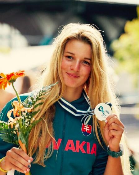 Eliška Mintálová - vodný slalom