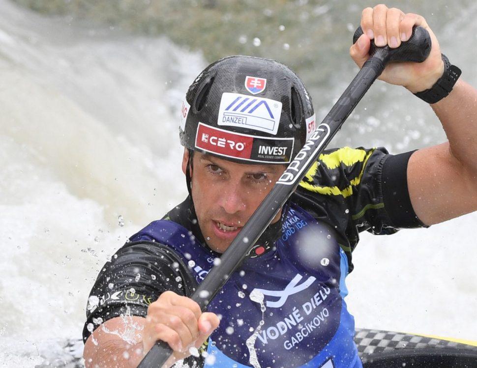 Sašo Slafkovský - vodný slalom