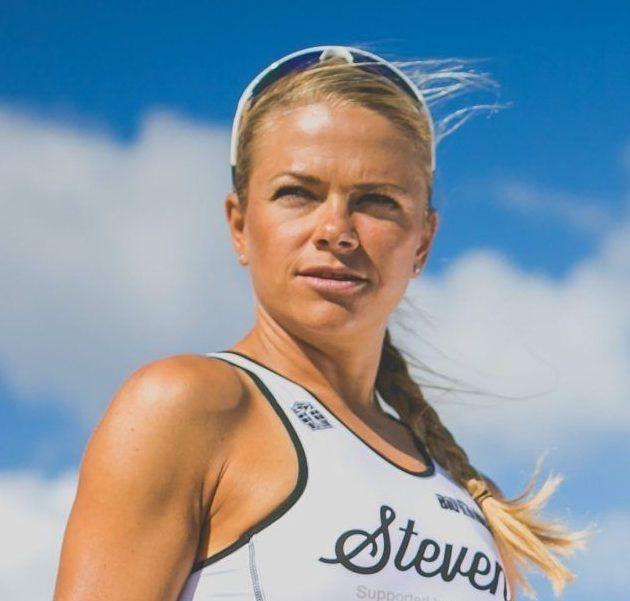 Alena Stevens - dlhý triatlon